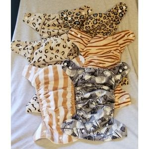6 Cloth diapers!